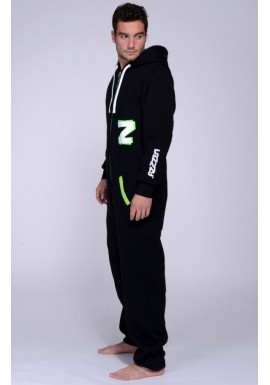 Acid green - Lazzzy® Onesie survêtement premium