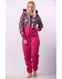 Pink camo - LIMITED EDITION Lazzzy® onesie premium