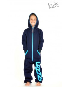 Dark blue - KIDS Lazzzy® onesie enfants premium