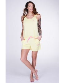 Lazzzy ® SUMMY SHORT light yellow / pink