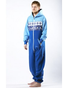 Winter blue - LIMITED EDITION Lazzzy® onesie premium