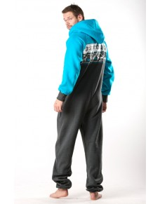 Winter turquoise - LIMITED EDITION Lazzzy® onesie premium